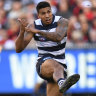 Feted Cat Tim Kelly at peace with failed trade move to West Coast
