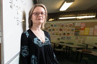 High achieving teacher, Meg Bennett from Carlingford High School.