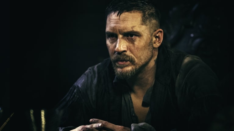 Tom Hardy stars in gritty period drama Taboo.