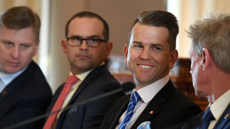 LNP member for Kawana Jarrod Bleijie raised some eyebrows with his choice of cufflinks. But there was plenty of other news from this year's estimates hearings.