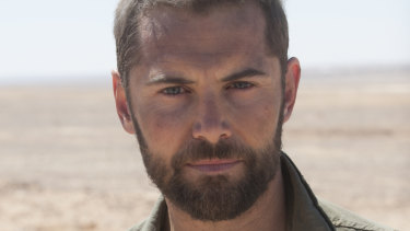 MacPherson in the military spy thriller Strike Back.