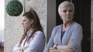 Jessie Buckley (left) as Rose-Lynn Harlan and Julie Walters as Marion.