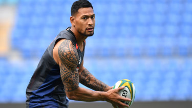 Bible belt: Israel Folau received calls for his sacking.