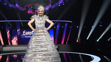 Kate Miller-Heidke at Eurovision: Australia Decides.