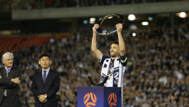 Melbourne Victory skipper Carl Valeri has won two titles from four seasons in the A-League.