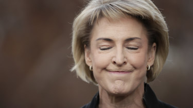 """Nothing to see here: Michaelia Cash set to be """"honoured"""" at Thursday night's Ernies."""