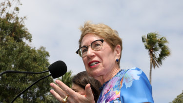 Margaret Beazley after her appointment as NSW governor in January.