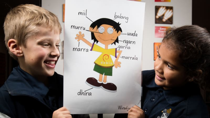 The Aboriginal language taught more than Spanish in NSW schools