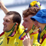 Passing the mantle: Australia celebrates the new Oarsome Foursome