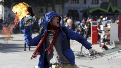 Chile hiked public transport fares. Its citizens torched stations in response