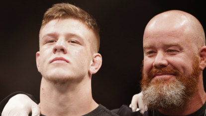 Victorian UFC rising star Crute wants to take on top 10 contenders