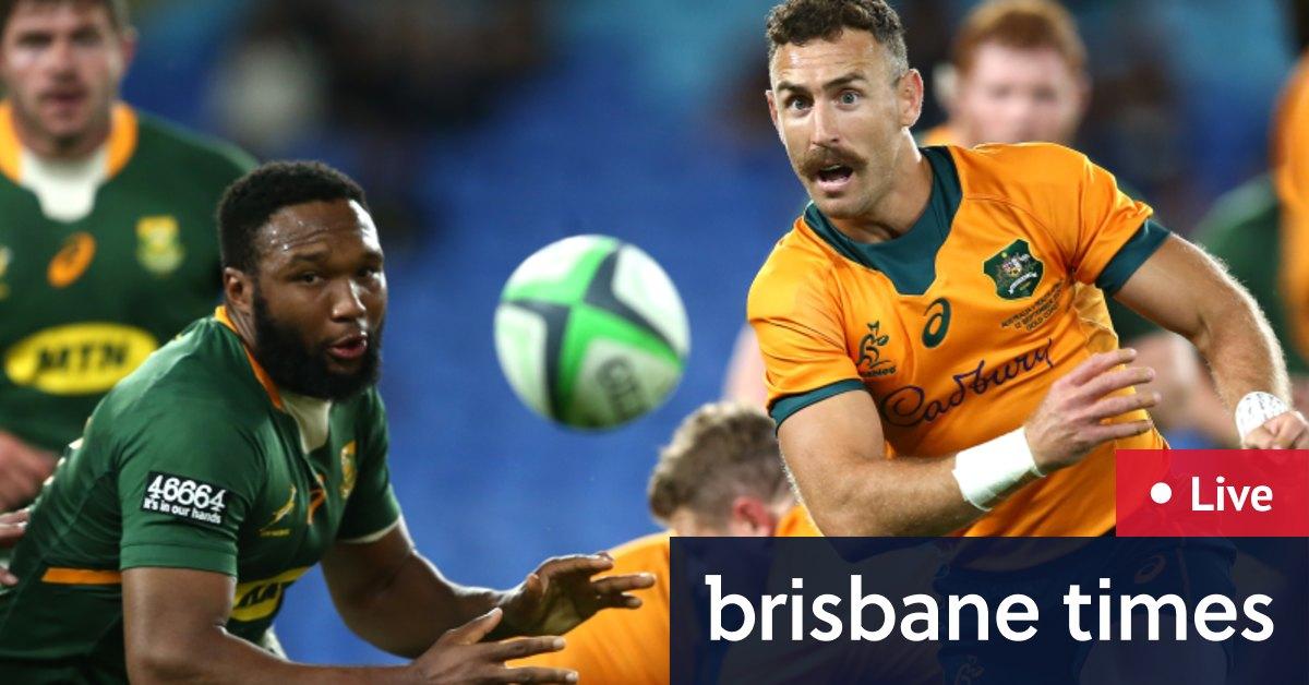 Rugby Championship 2021 LIVE: Wallabies v Springboks, All Blacks v Argentina