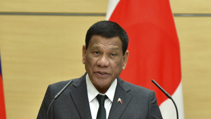 Philippine President says he was once gay but now 'cured'