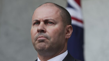 Treasurer Josh Frydenberg acknowledged the help for customers could only go so far when the economy needed strong banks.