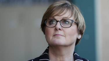 Linda Reynolds, Assistant Home Affairs Minister, says the conduct of rogue migration agents is unacceptable.