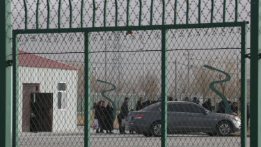 An industrial Park in Artux in western China's Xinjiang region, where Western nations say human rights abuses are occurring.