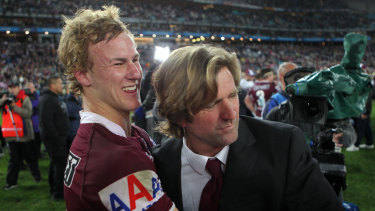 Daly Cherry-Evans has blossomed into a leader during Hasler's second stint in charge after his first netted them the 2011 premiership.