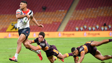The Broncos suffered their worst NRL defeat in club history against the Roosters on Thursday night.