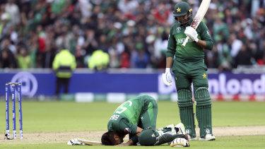 Special moment: Pakistan's batsman Babar Azam.