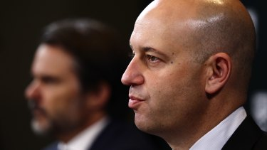 Hard line: Todd Greenberg is sticking to his guns over any salary cap breaches.