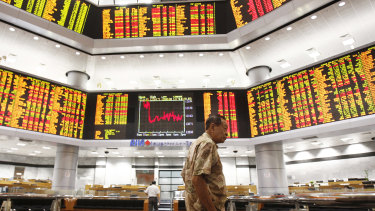 The Hang Seng was 0.5 per cent higher on Thursday.
