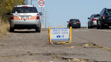 Mobile speed camera enforcement also offers a general deterrence to speeding.