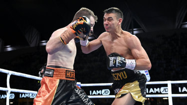 Tim Tszyu's last fight was against Australian boxing legend Jeff Horn in Townsville in August.