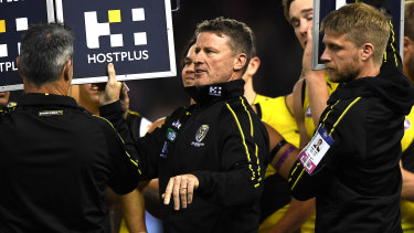 Damien Hardwick says the Tigers need to earn back respect.