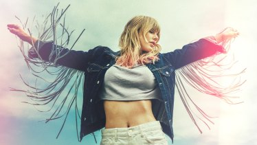 Swift's bubbly new pop song is matched by her pastel-hued presence on social media.