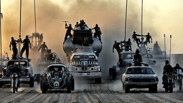 Brutally difficult movie to shoot: Mad Max: Fury Road