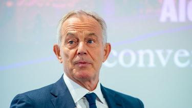 Tony Blair says progressive politics needs to adapt or risk death.