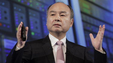 It has been a disastrous year for Masayoshi Son.