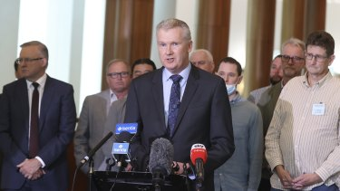 Tony Burke has demanded the Attorney-General's Department explain its costings.