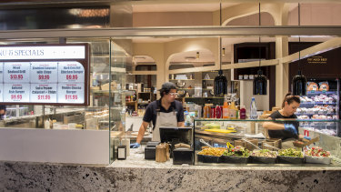 Broadway's Cook with Costi breaks the mould of shopping centre food.