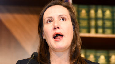 """""""I'm not going to personalise these things"""": Kelly O'Dwyer pressed on whether she could get by on $40 a day."""