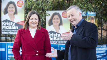Labor candidate Kristy McBain has claimed victory in the Eden Monaro byelection.