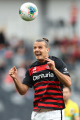 Alexander Meier says both he and the Wanderers will get better as the season wears on.