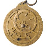 This astrolabe was created for Jaafar, son of the Abbasid caliph al-Muktafi, in Baghdad in the 10th century AD.