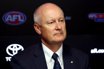 AFL chairman Richard Goyder.