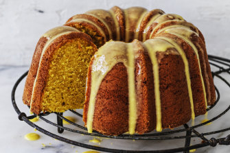 Orange milk cake.
