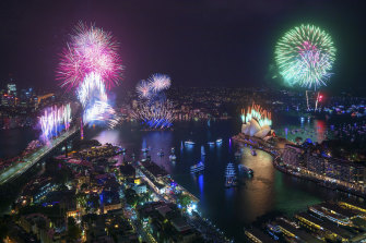 Melbourne will not host fireworks  on New Year's Eve, leaving Sydney as the main attraction in the sky. Last year's Sydney display is pictured.