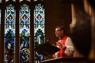 Anglican Archbishop of Sydney Glenn Davies said supporters of same-sex marriage should leave the church.