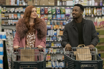 Keeping it real: Anne Hathaway and Gary Carr are two of the many stars in Modern Love.
