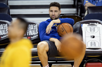 The Warriors' Klay Thompson will miss the next NBA season with an Achilles injury.
