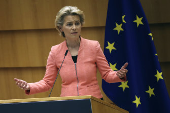 'This is the moment for Europe': EU Commission President Ursula von der Leyen delivers her first SoU address.