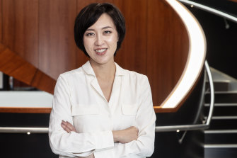 Livia Wang launched a start-up that markets Australian products to China.