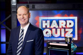 Tom Gleeson is back as promised on Hard Quiz.