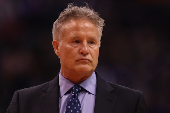 Basketball coach Brett Brown.