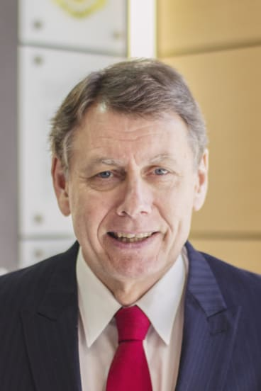 John Collier, head of St Andrew's Cathedral School.