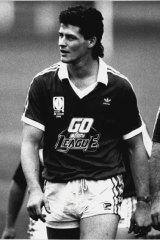 Former Kangaroo Peter Jackson during his playing days.